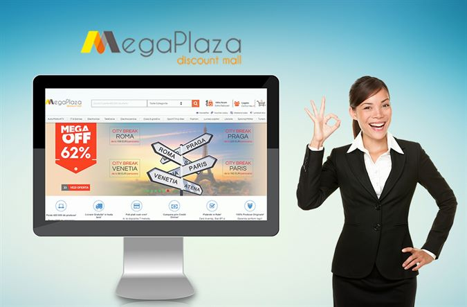 An online store that we are proud of: megaplaza.ro