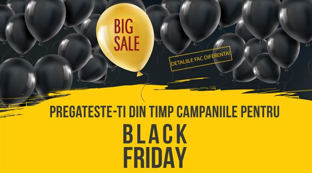 Campanii de promovare de Black Friday