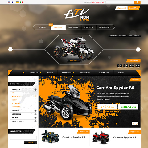 Atvrom shop - Creative Ones