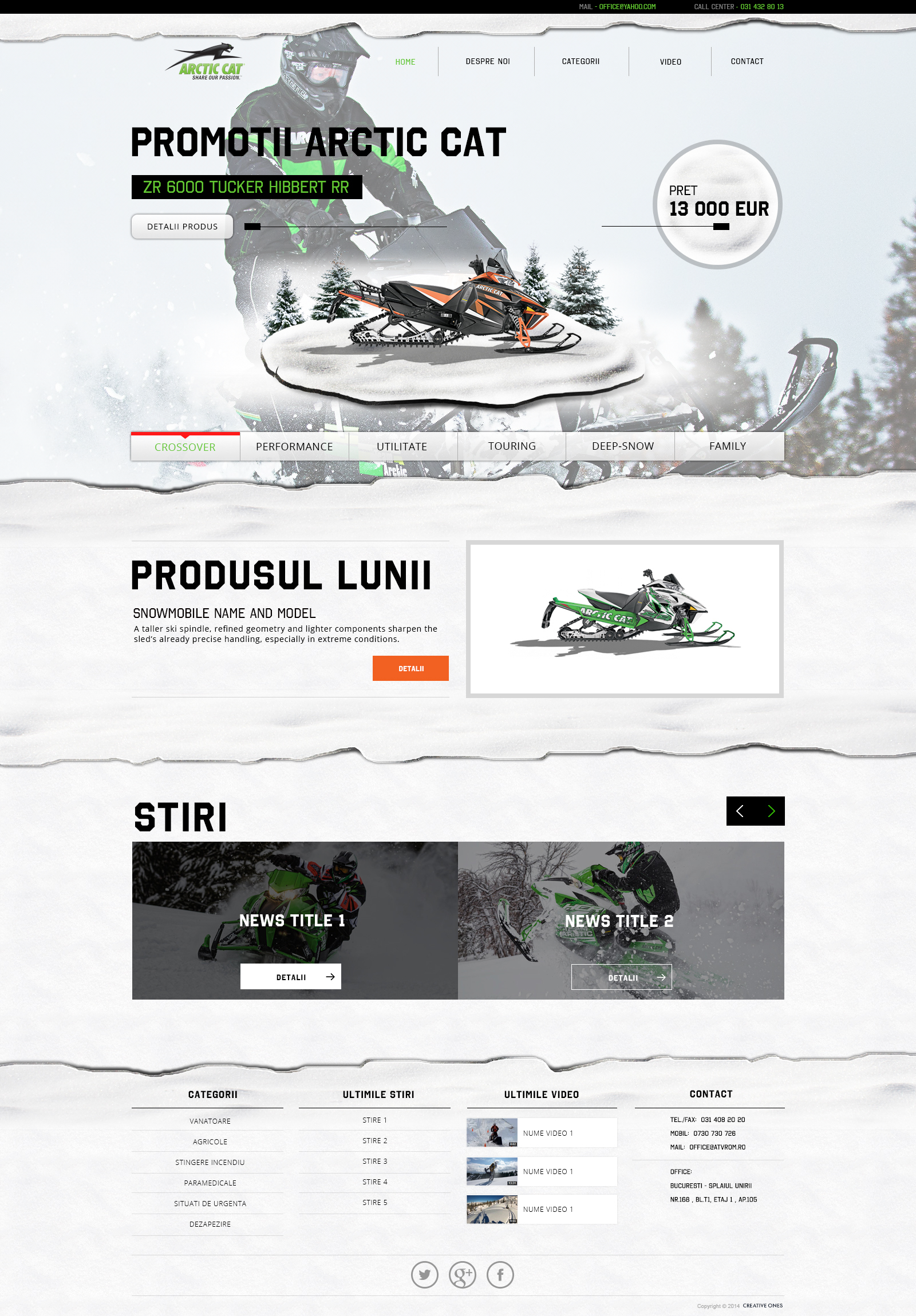 Arctic Cat - Creative Ones