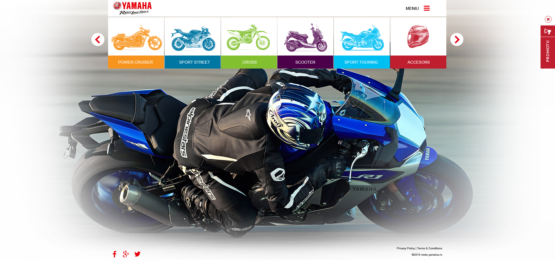 Yamaha motorcycles - Creative Ones