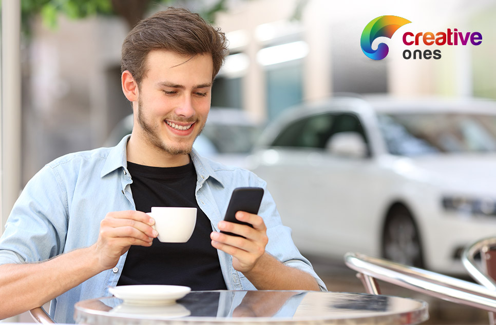 The day doesn't begin with a coffee, it begins with your smartphone