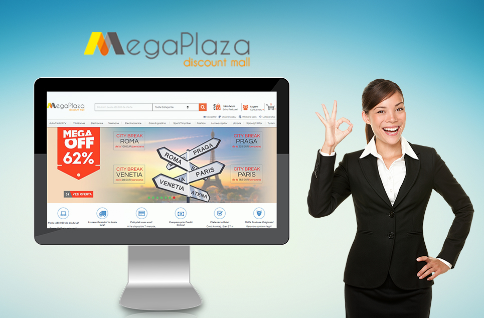 Megaplaza.ro an online store that we take pride with it.