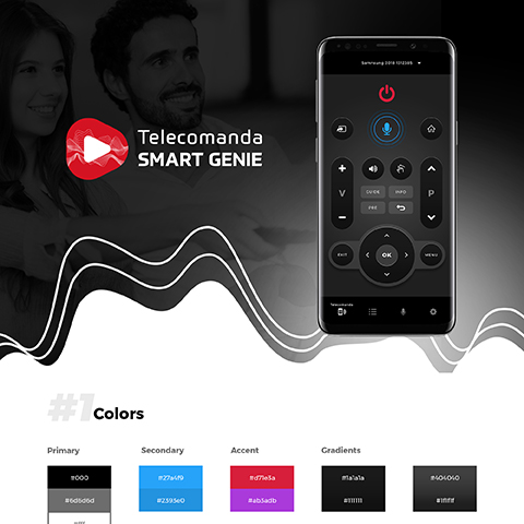Telecomanda Smart Tv Genie